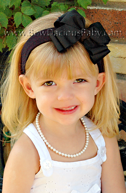 Classic Boutique Headband Double Layer Knot Center Regular or Mini, Color Choices