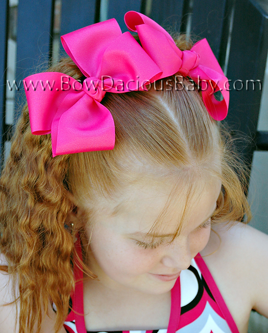 2 1/4 Classic Hair Bows Knot Center, Color Choices