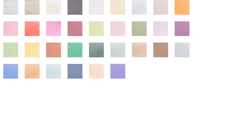 Sheer Color Chart