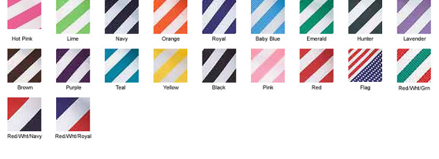 Stripe Color Chart