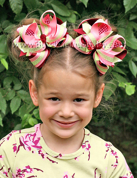 Love Notes DIVA Boutique Hair Bows or Headband