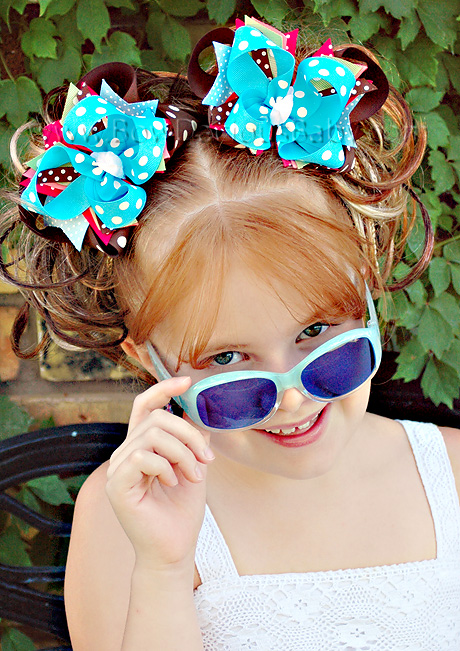 Fall Funk DIVA Boutique Hair Bows or Headband