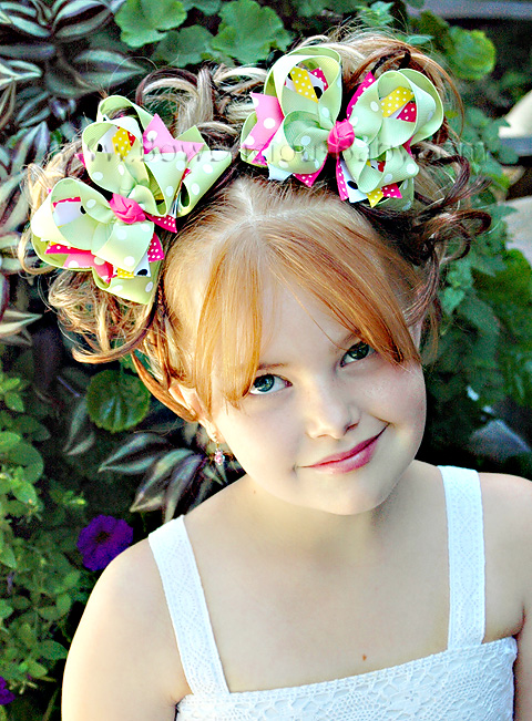 Spring Fling DIVA Boutique Hair Bows or Headband