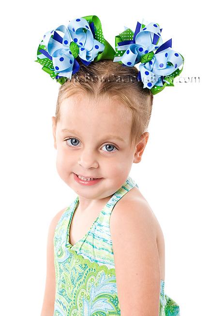 Island Breeze DIVA Boutique Hair Bows or Headband