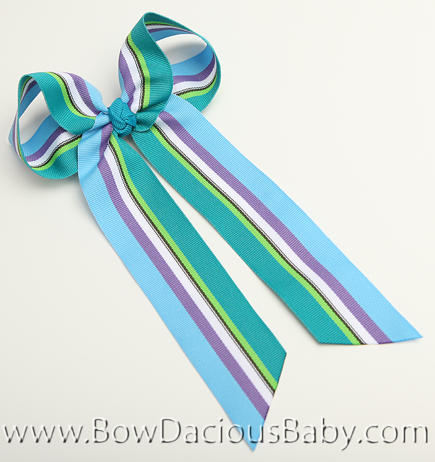 South Seas Ella Bow Big Girl Ponytail Hairbow