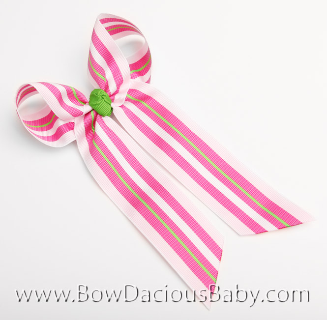 Straweberry Shortcake Ella Bow Big Girl Ponytail Hairbow