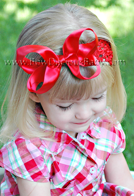 Emma Satin Boutique Headband 3