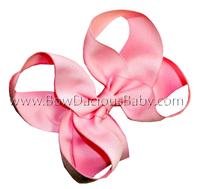 Emma Bow Boutique Hair Bow Plain Center, Color Choices
