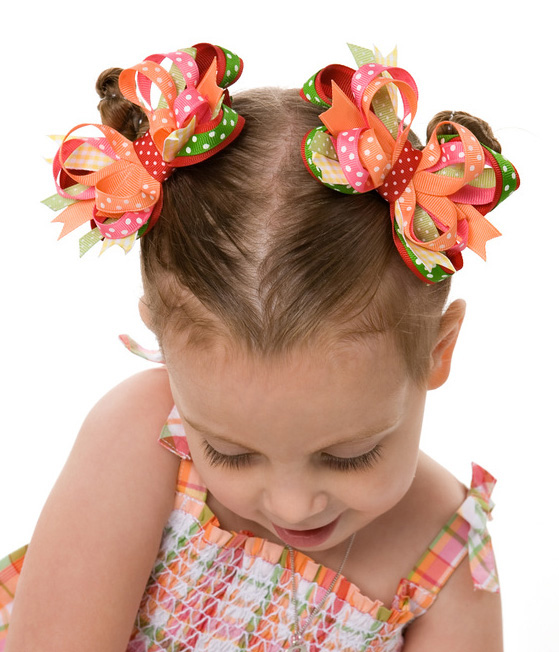 Cherry Baby Itty Bitty DIVA Hair Bows or Headband
