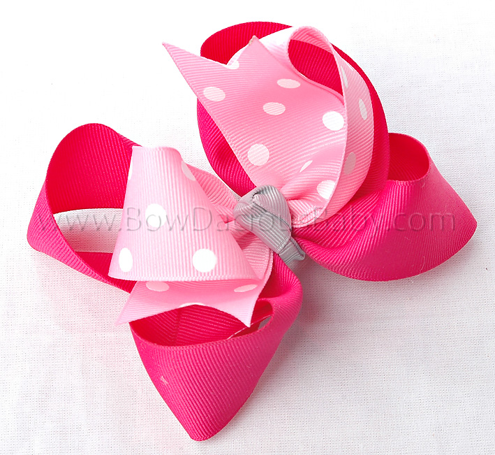 Classroom Kitty Loopie Chic Hair Bows or Headband, Regular or Mini