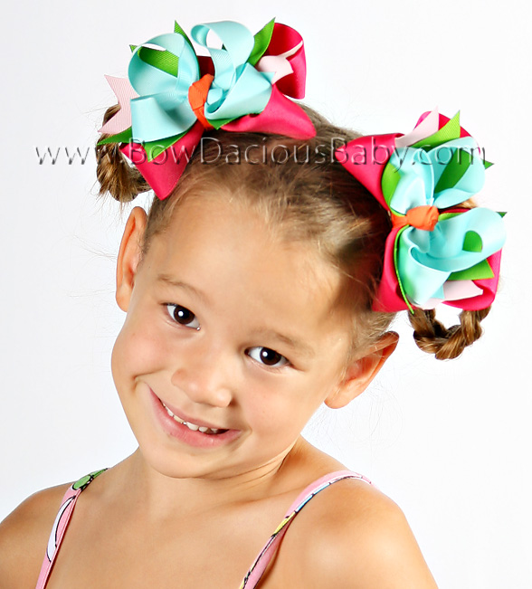 Cupcake Cutie DIVA Hair Bows or Headband