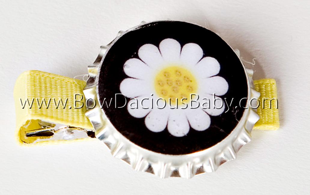 Lady Daisy Bottlecap Clip