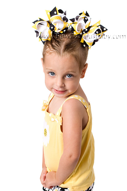 Lady Daisy DIVA 3 Hair Bows or Headband