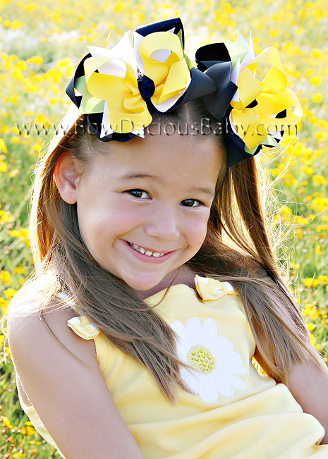 Lady Daisy DIVA Hair Bows or Headband