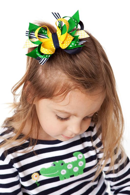 Daisy Days Itty Bitty DIVA Hair Bows or Headband
