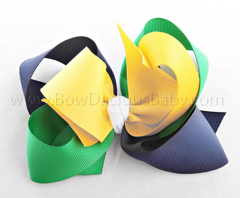 Daisy Days Loopie Chic Hair Bow or Headband, Regular or Mini