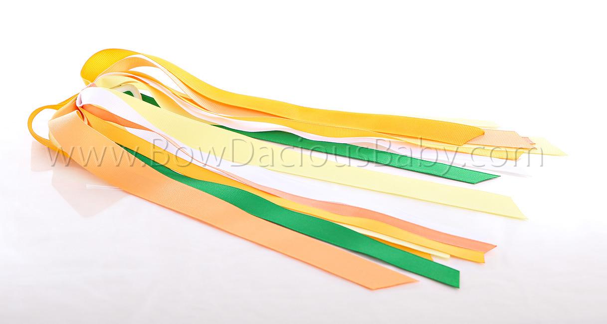 Daisy Days Streamer Bow