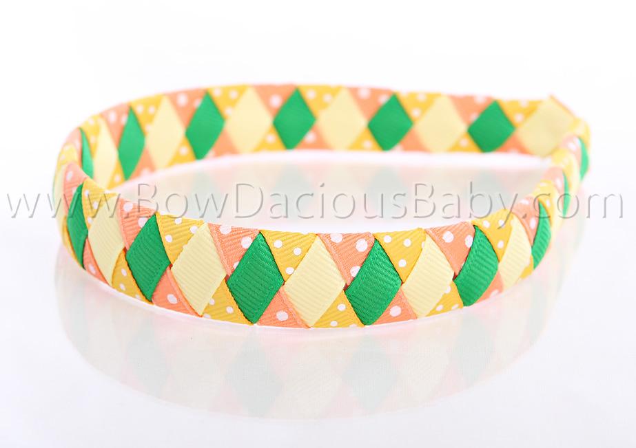 Daisy Days Woven Headband 2