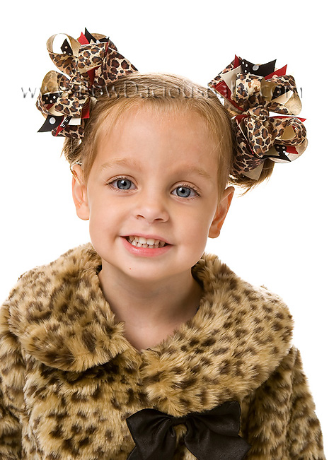 Glamour Kitty DIVA Hair Bows or Headband