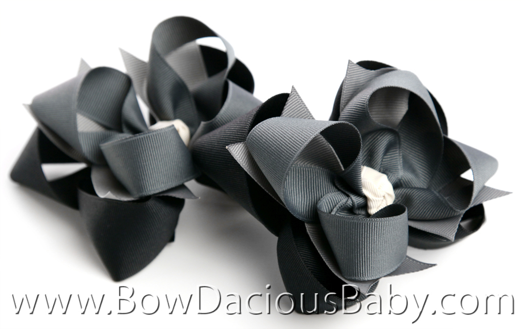 Gymboree Holiday Panda DIVA 3 Hair Bows or Headband, Regular or Mini