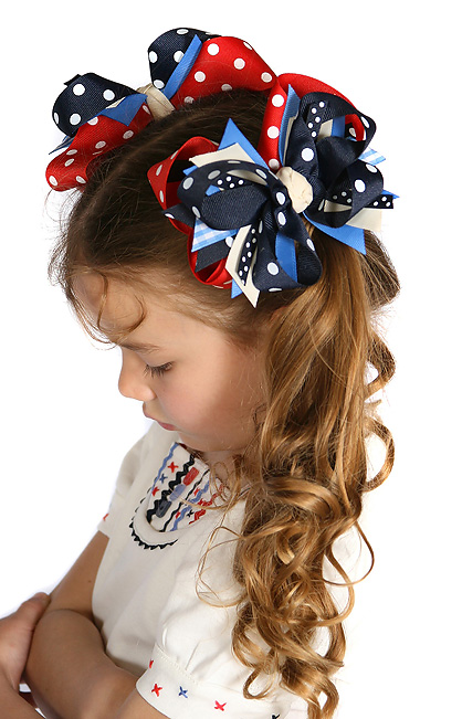 Holland Days DIVA Hair Bows or Headband