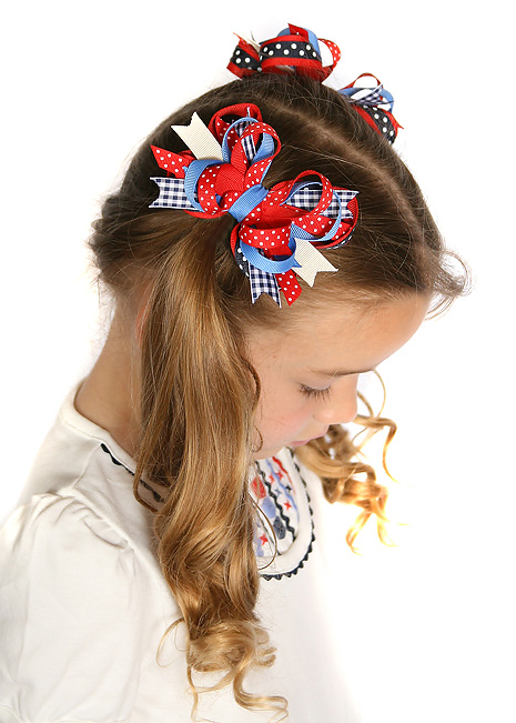 Holland Days Itty Bitty DIVA Hair Bows or Headband