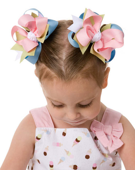 Ice Cream Social DIVA  Hair Bows or Headband