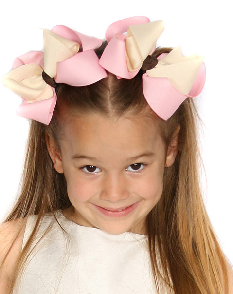 Ice Cream Social Loopie Chic or Sweet Pea Hair Bows or Headband