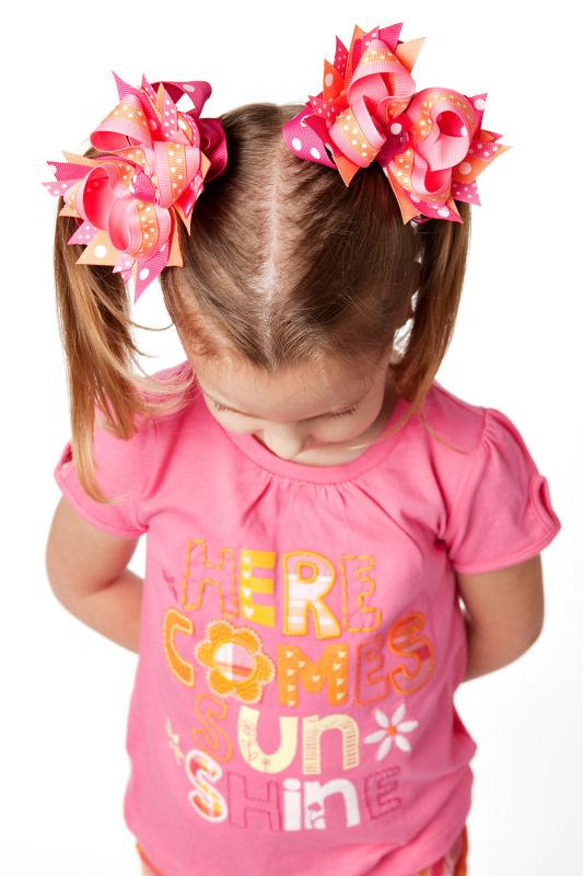 Gap Lawn Party DIVA 2 Hair Bows or Headband, Regular or Mini