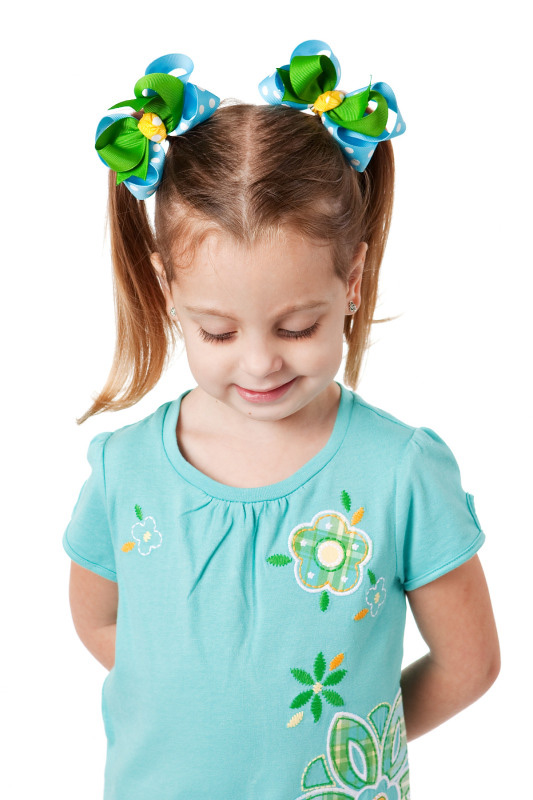 Gap Lawn Party Loopie Chic Hair Bows or Headband, Regular or Mini