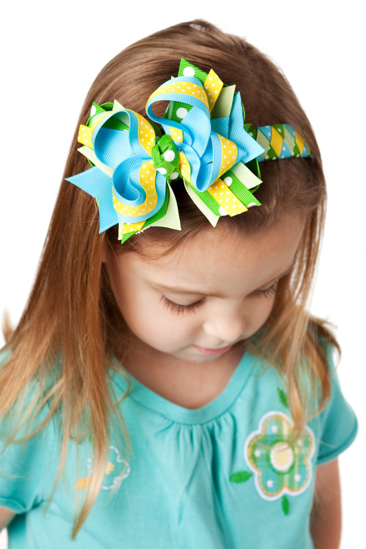 Gap Lawn Party Woven Headband (add a bow options)