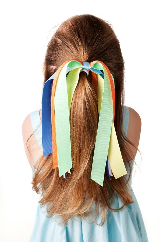 Mermaid Magic Streamer Hair Bow