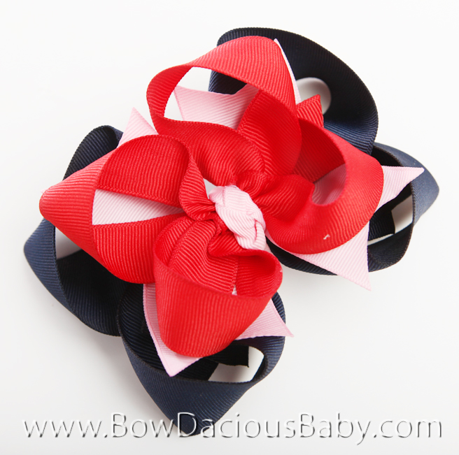 New York City Girl DIVA Hair Bows or Headband, Regular or Mini