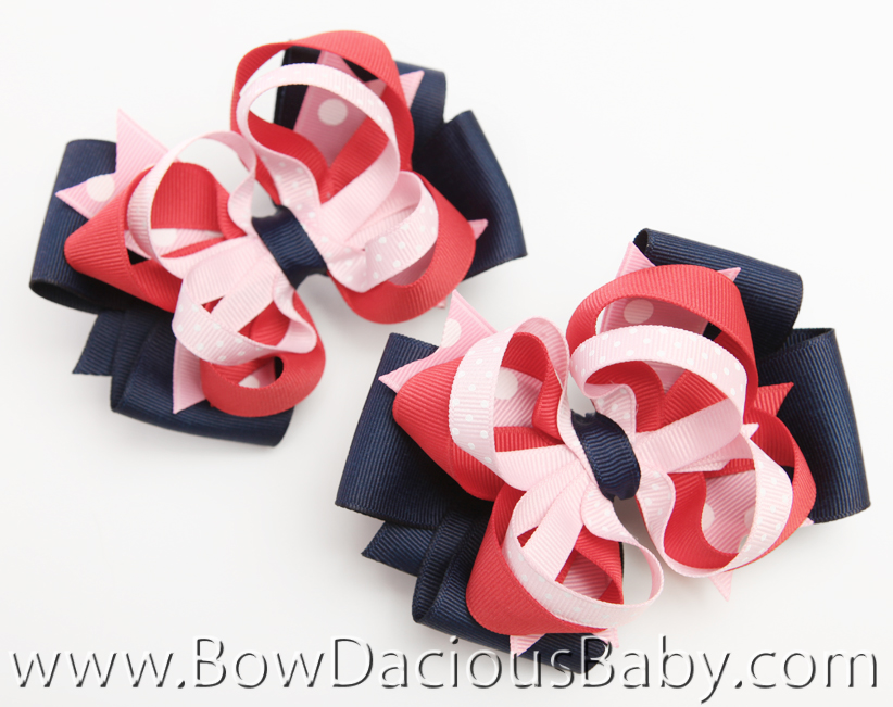 New York City Girl Hair Bows