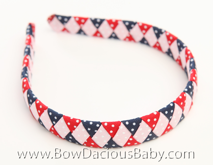 New York City Girl Woven Headband