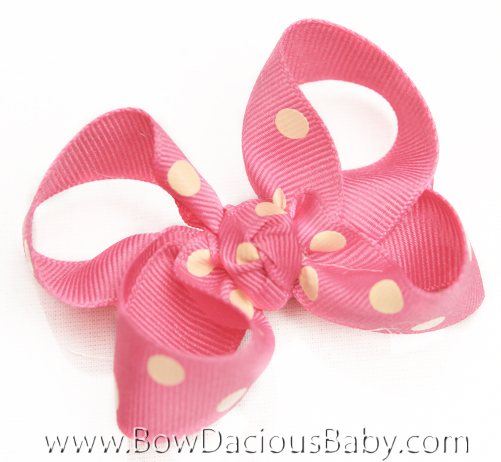 Popstar Academy Emma 2 Hair Bows or Headband, Regular or Mini