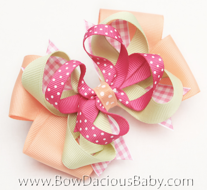 Popstar Academy Hair Bows or Headband, Regular or Mini
