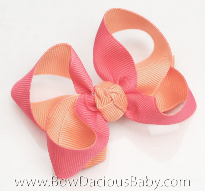 Popstar Academy Reverisble Emma Hair Bows or Headband, Regular or Mini