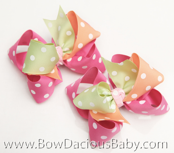 Popstar Academy Loopie Chic Hair Bows or Headband, Regular or Mini