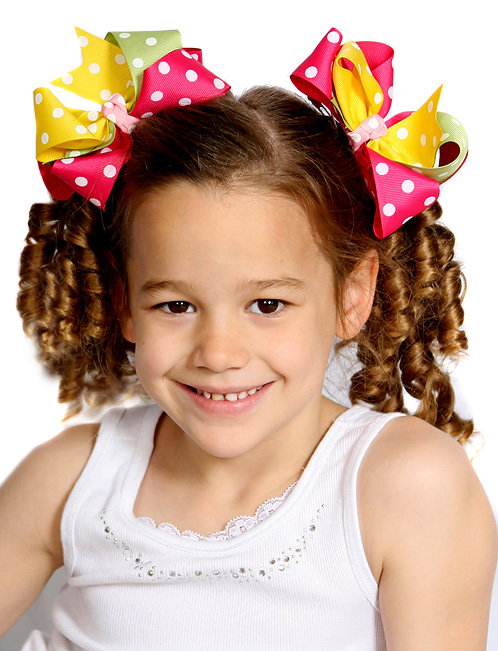 Pretty Lady Loopie Chic Hair Bows or Headband