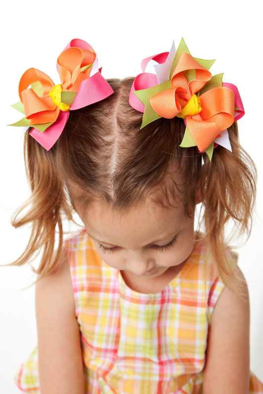 Social Butterfly DIVA Hair Bows or Headband Regular or Mini