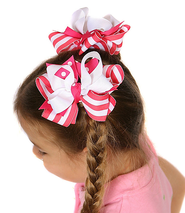 Tennis Match DIVA 2 Hair Bows or Headband