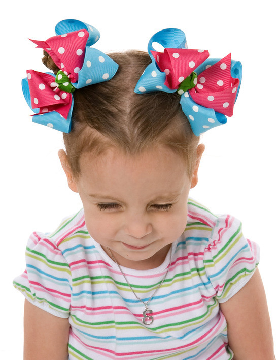 Tennis Match Loopie Chic or Sweet Pea Hair Bows or Headband