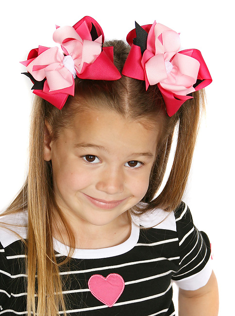 Tres Chic DIVA Hair Bows or Headband