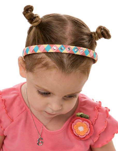 Tropical Garden Woven Headband
