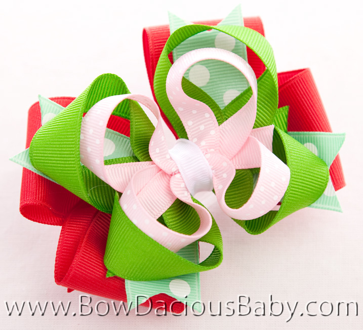 Watermelon Picnic Hair Bow or Headband