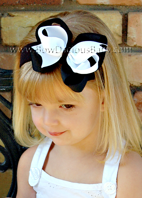 *Loopie Chic Headband Double Color Plain Center, Color Choices