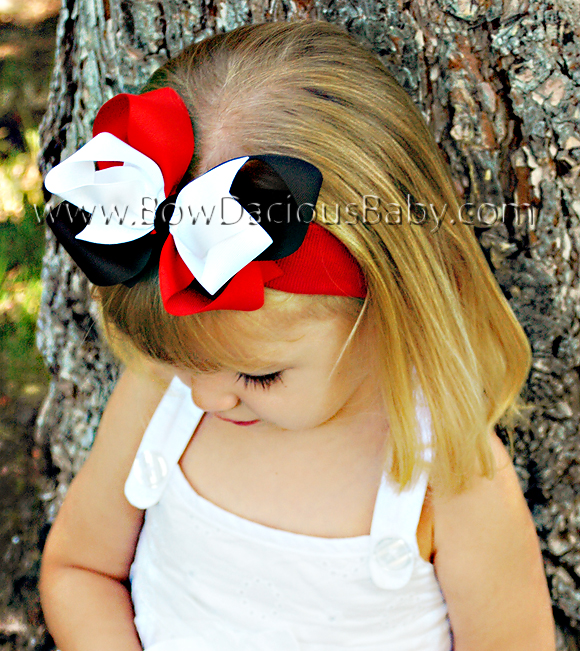*Loopie Chic Headband Funky Plain Center, Color Choices