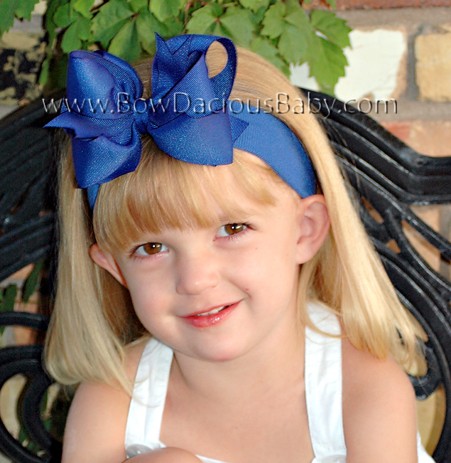 *Loopie Chic Headband Solid Plain Center, Color Choices