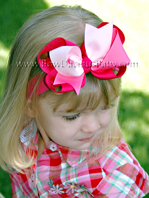 *Loopie Chic Headband Funky Top Knotted Center, Color Choices